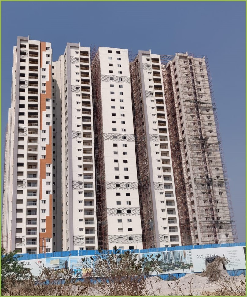 Block 4: Flooring & Windows  Work Completed Till 26th floor & Doors Work Completed Till 18th Floor