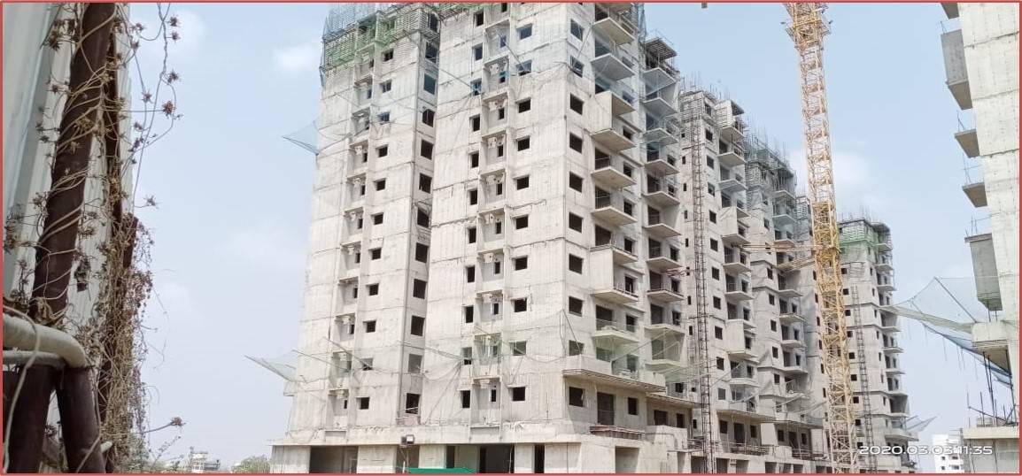 Block 1: 10th & 11th Floor Roof  Slabs Work In Progress