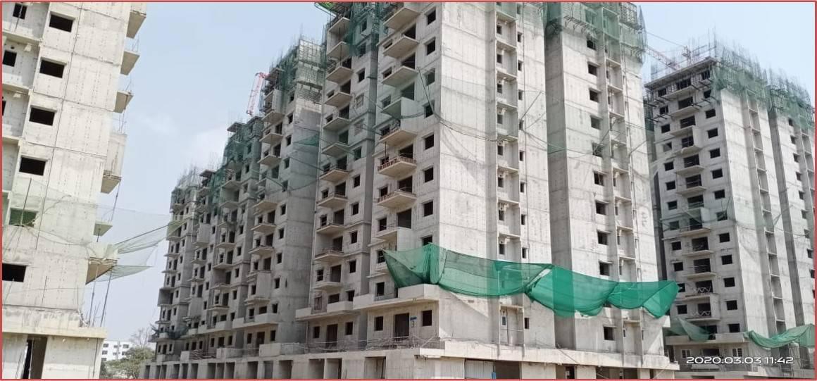 Block 3: 11th & 12th  Floor Roof Slabs Work In Progress